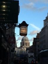 View of St Paul's from Fleet Street