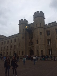 A very small section of the queue to see the Crown Jewels