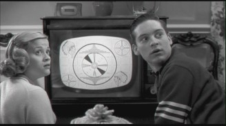 Reese Witherspoon and Tobey Maguire in Pleasantville