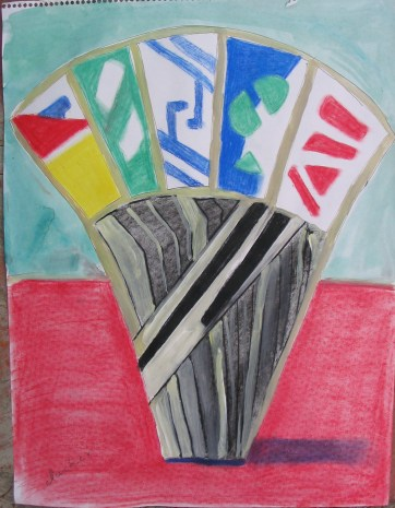 United Nations, pastel on paper, 24 by 18 in. Emilia Kallock 2005