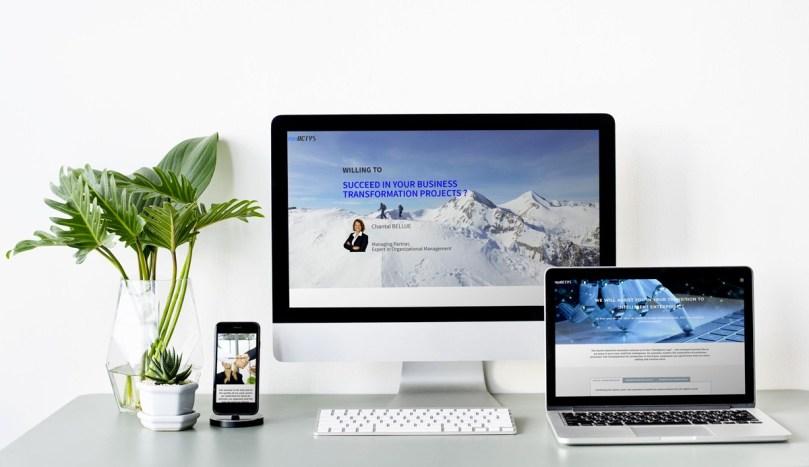 Site web de ProaActys en Suisse, réalisé par Emilia Webdesign, webdesigner graphiste à Lille