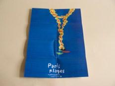 affiche de Paris plages