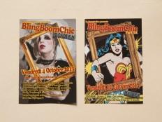 Anciens flyers des soirées BlingBoomChic