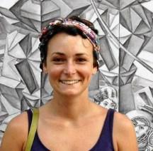 Emilie Geant , portrait , artist , painter , illustrator , watercolor , acrylic , photo