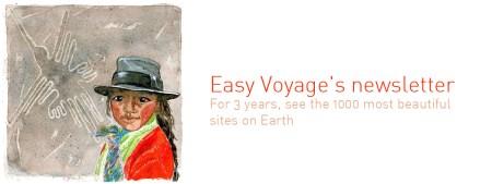 esay voyage newsletter Terres de Voyages by Emilie Geant