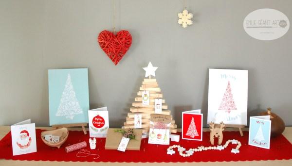christmas, tags, label, greeting cards, tree, prints, goodies, koru, holiday, santa, elf, merry