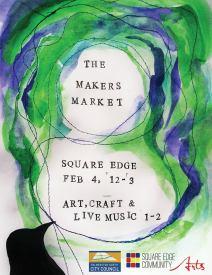 maker, market, craft, music, art, emilie geant, square edge, palmerston north, stall, manawatu,