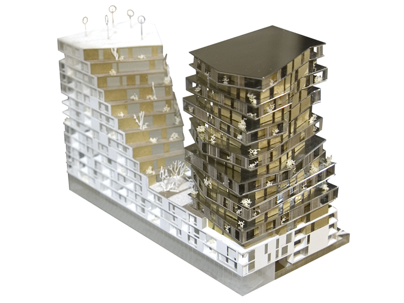 Hamonic & Masson / logements zac massena