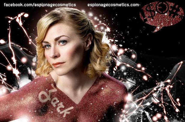 Modeling for Espionage Cosmetics, photo by Mike Wilson with www.nowheremanphotos.com