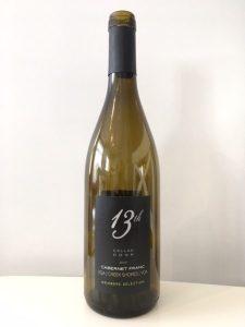13th Street Cellar Door Cabernet Franc 2013 wine bottle