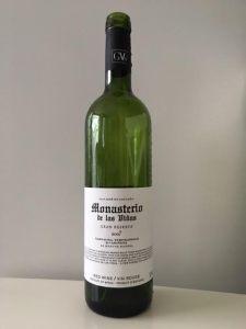 2007 Monasterio de la Viñas Gran Reserva Wine Bottle