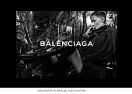 02 Gisele Bündchen for Balenciaga, shot by Steven Klein.