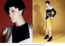 16 Edie Campbell for Bottega Veneta, shot by David Sims.