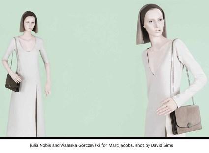 18 Julia Nobis and Waleska Gorczevski for Marc Jacobs, shot by David Sims.