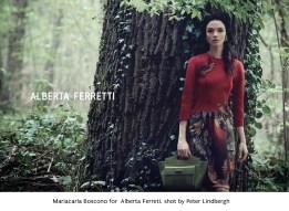 21 Mariacarla Boscono for Alberta Ferreti, shot by Peter Lindbergh