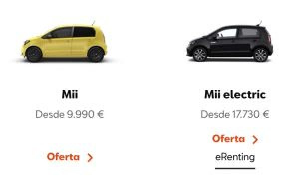 Precio Seat Mii Gasolina Vs. Eléctrico