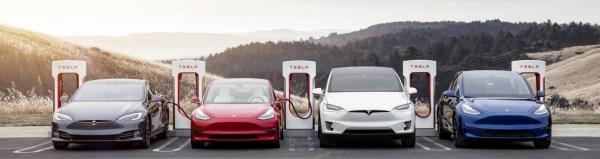 Gama Tesla S3XY