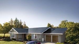 El Solar Roof de Tesla, un tejado solar muy económico