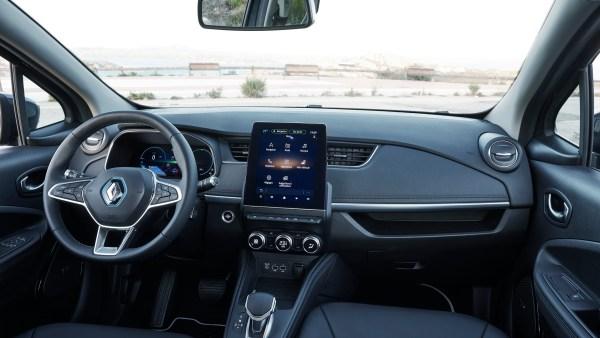 Interior nuevo Renault ZOE