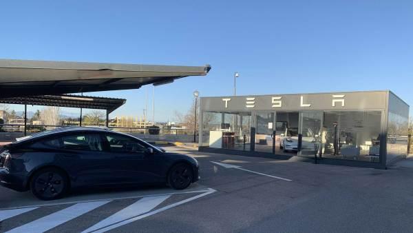 Tesla Store de Pozuelo de Alarcón (Madrid)