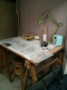 Table pour préparer les typonss