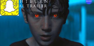 brightburn realidad aumentada snapchat