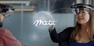 meta view realidad aumentada headset
