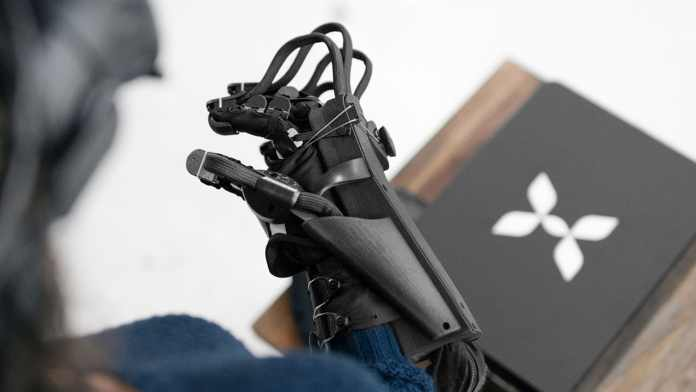 haptx guante háptico realidad virtual
