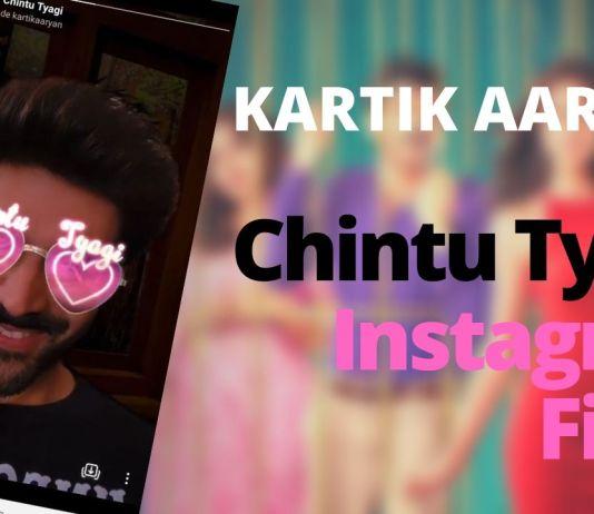 Kartik Aaryan instagram filter