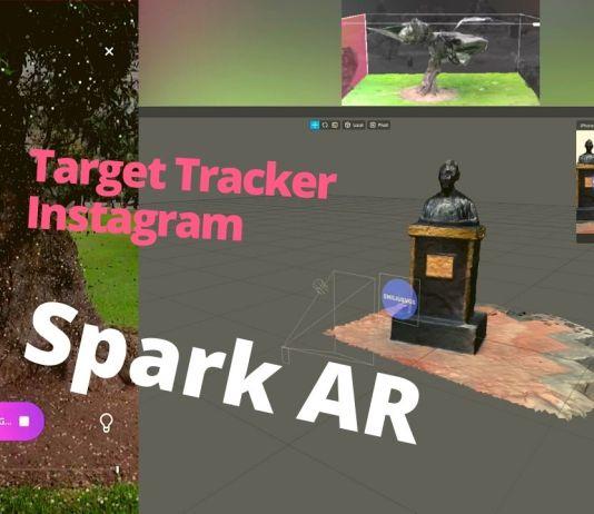 display land fotogrametria spark AR realidad aumentada