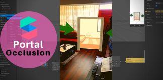 Portal oclusion tutorial spark AR