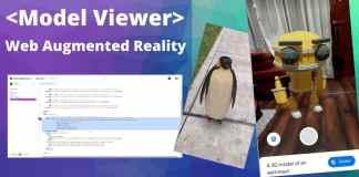 model viewer google realidad aumentada