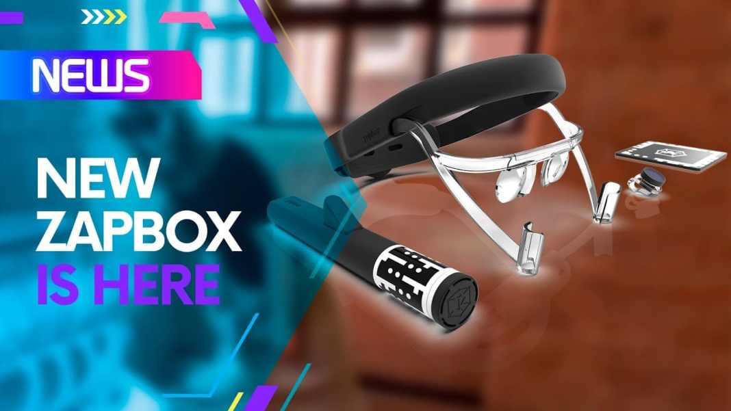 new Zapbox Zappar