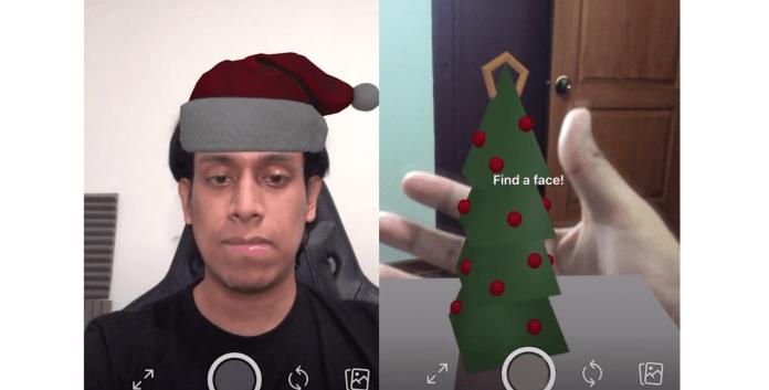 Spark AR Christmas