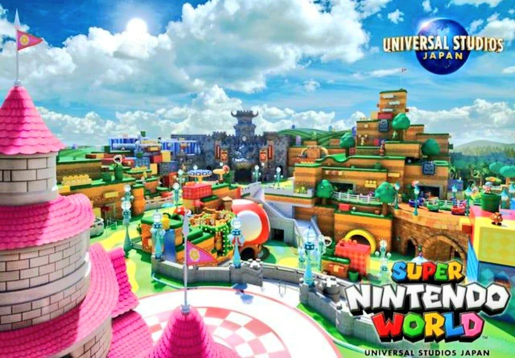 Super Nintendo World Japon