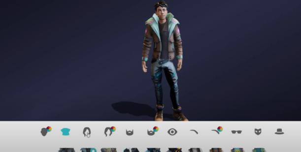 Avatar Ready Player Me Cyber Punk