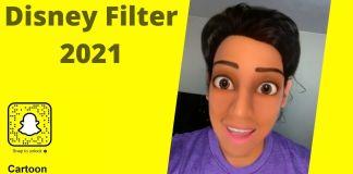 disney filter snapchat 2021