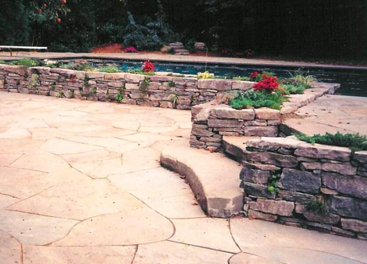 Custom stone walls NY by Emil Kreye & Son, Inc.