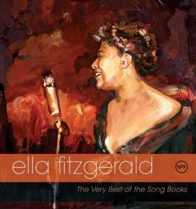 Ella Fitzgerald album cover by Jim Salvati