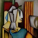 Femme et Vase (giclée)