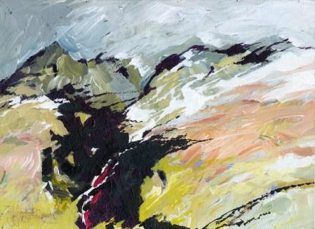 Jeffrey A. Dering, Spring Glacier-1