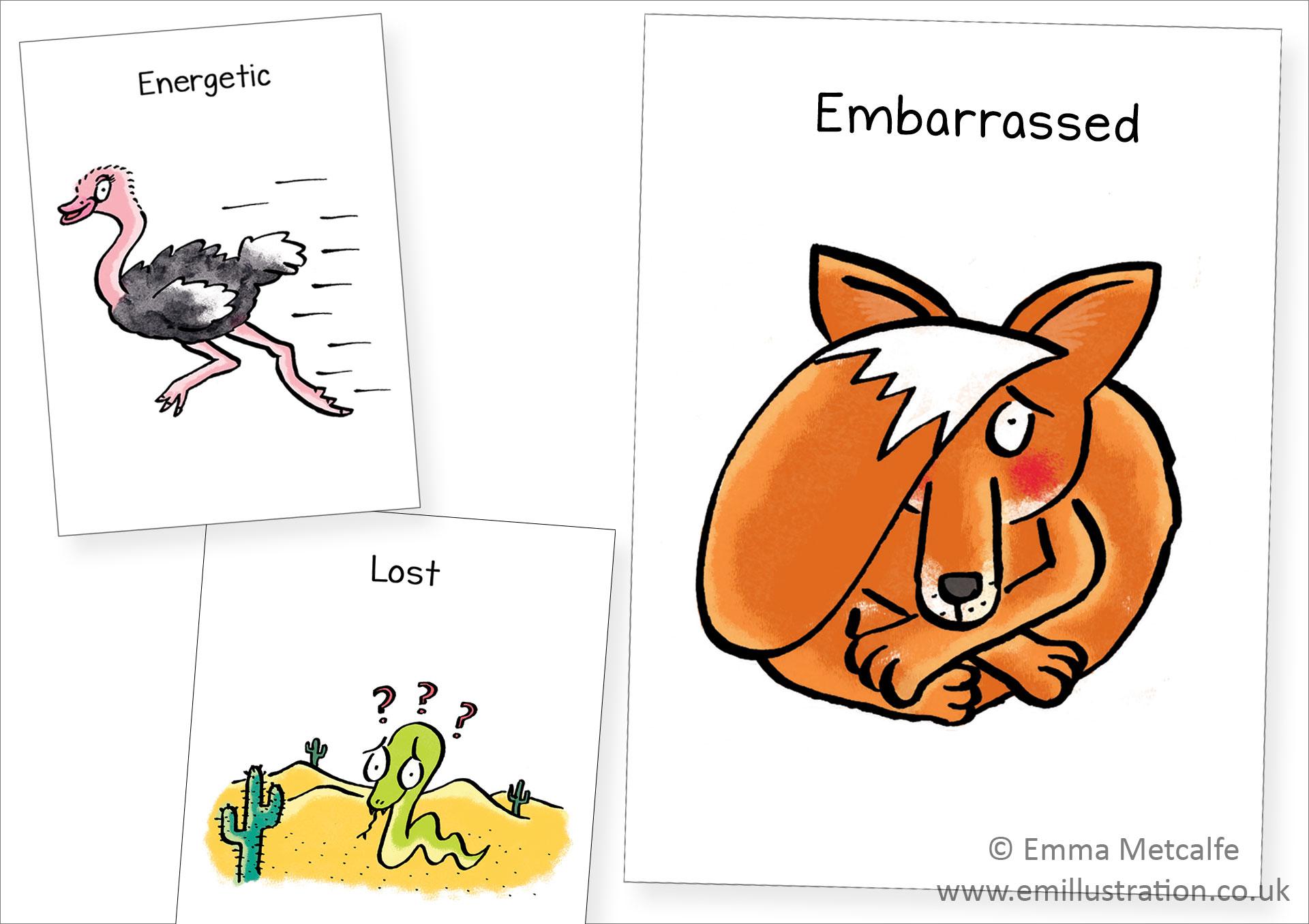 Characters Blog Emma Metcalfe Illustration