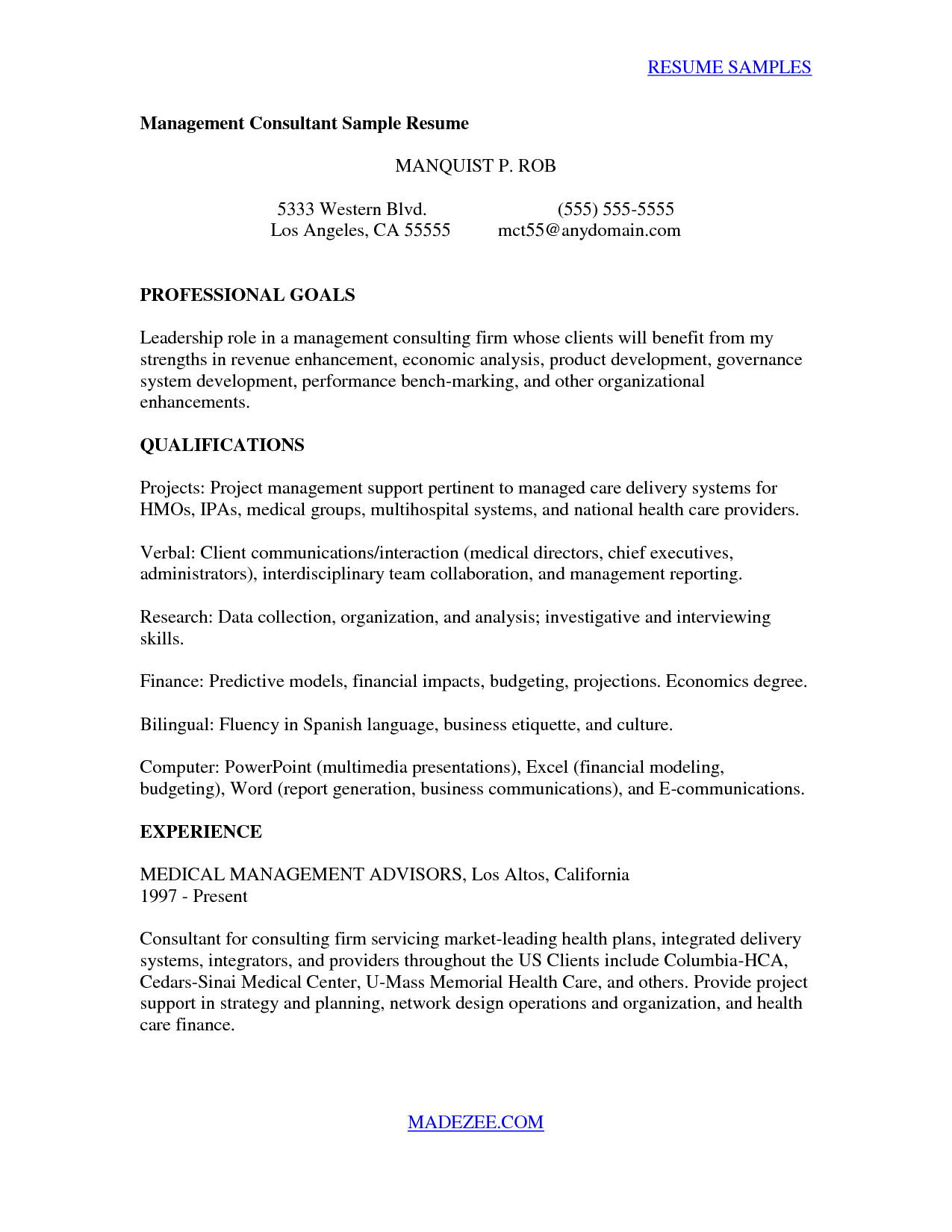 Project Management Consultant Cover Letter Cv Cover Letter Template Samples Letter Templates