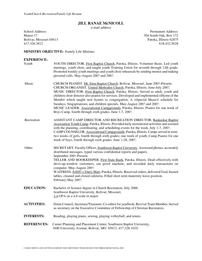 Cover Letter For Secretary Resume | Save Template