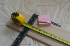 Measure 2x, cut 1x