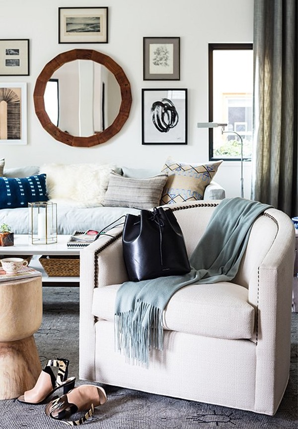 sofa rug arrangement legs wood uk 1-2-3 totally easy decorating ideas (for your walls ...