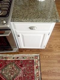 Our White Kitchen Cabinets + Granite - Emily A. Clark
