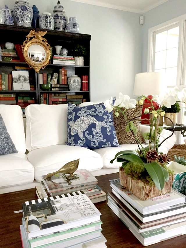 ektorp living room country themed ideas ikea sofas for our emily a clark white sofa with black bookcases
