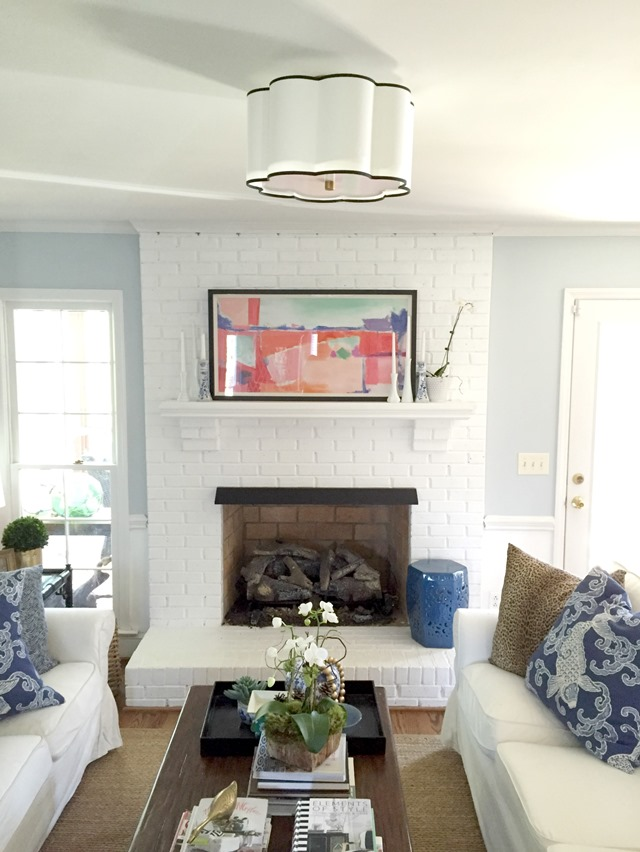 living room overhead light