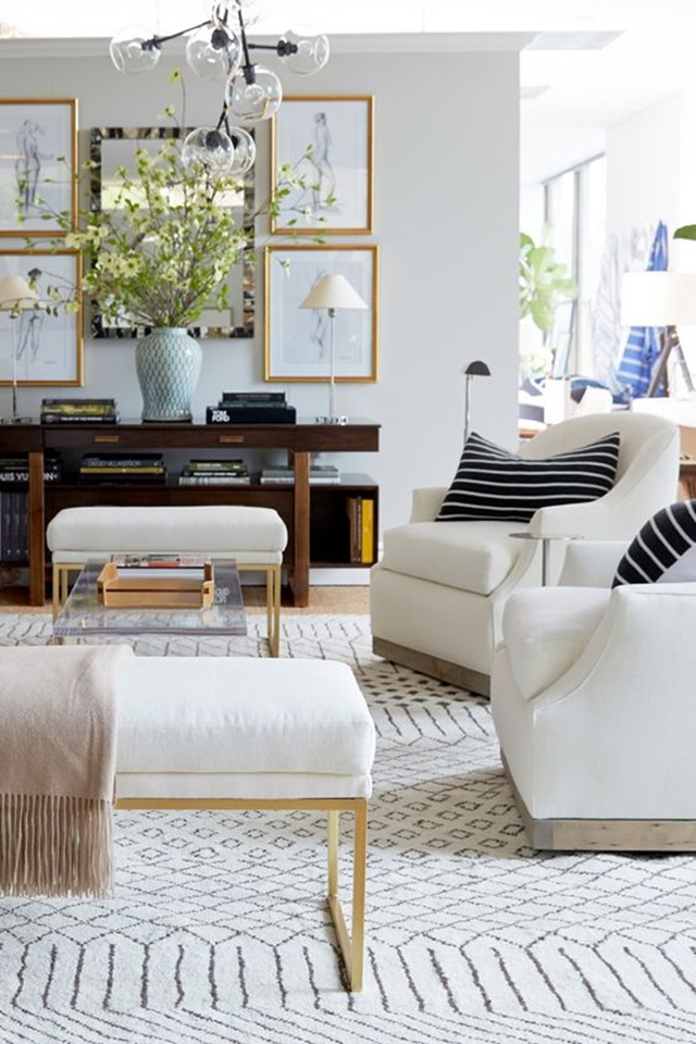 living room rugs decorative vases for neutral but patterned rug ideas emily a clark